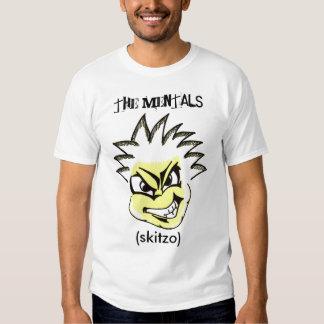 los mentals (skitzo) playeras