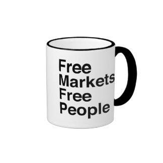 Los mercados libres liberan a gente tazas de café