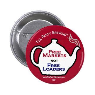 Los mercados libres TP0103 no liberan el botón de  Pin Redondo De 2 Pulgadas