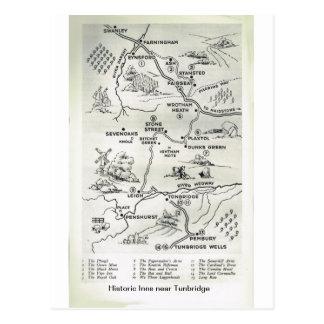 Los mesones históricos acercan a Tunbridge Tarjetas Postales