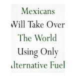 Los mexicanos asumirán el control el mundo usando  membrete a diseño