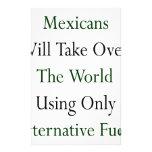 Los mexicanos asumirán el control el mundo usando  papelería personalizada