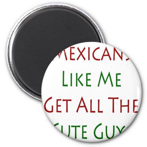 Los mexicanos como mí consiguen a todos los indivi imán