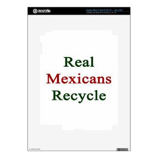 Los mexicanos reales reciclan iPad 3 pegatinas skins