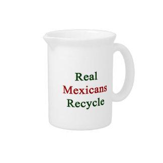 Los mexicanos reales reciclan jarrón