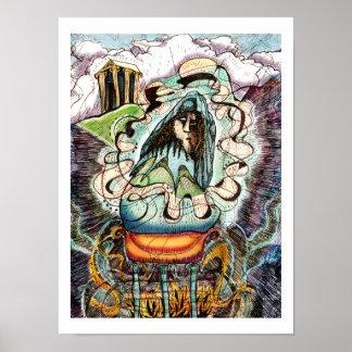 Los Miffs y las leyendas Oracle de Delphi imprim Posters