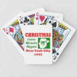 Los milagros de la causa del navidad suceden 1947 barajas de cartas