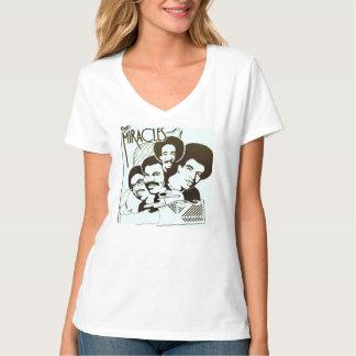 Los milagros que ofrecen la camiseta del grifo de playeras