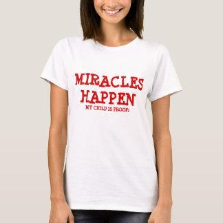 Los milagros suceden playera