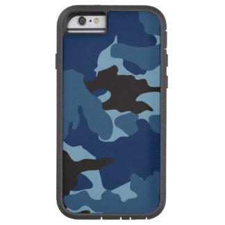 Los militares azules de Camo camuflan el caso del Funda De iPhone 6 Tough Xtreme