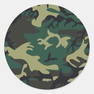 Pegatinas con diseños militares en Zazzle
