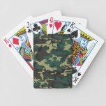 Los militares camuflan baraja de cartas