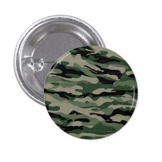 Los militares camuflan diseño pin redondo de 1 pulgada