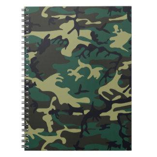 Los militares camuflan el cuaderno