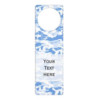 Los militares camuflan el modelo - blanco azul colgantes para puertas