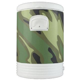 Los militares camuflan enfriador de bebida igloo