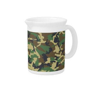 Los militares camuflan la jarra