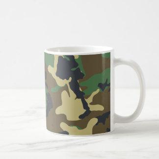 Los militares camuflan la taza