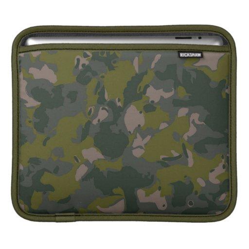 Los militares camuflan manga de iPad
