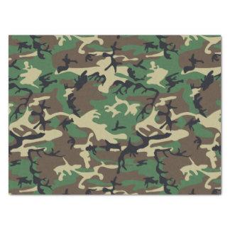 Los militares camuflan papel de seda