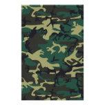 Los militares camuflan  papeleria de diseño