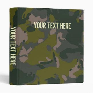 """Los militares camuflan para el estilo de Vietnam Carpeta 1"""""""