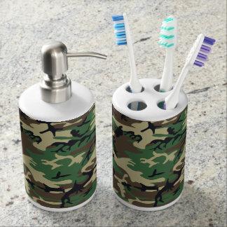 Los militares camuflan conjuntos de baño