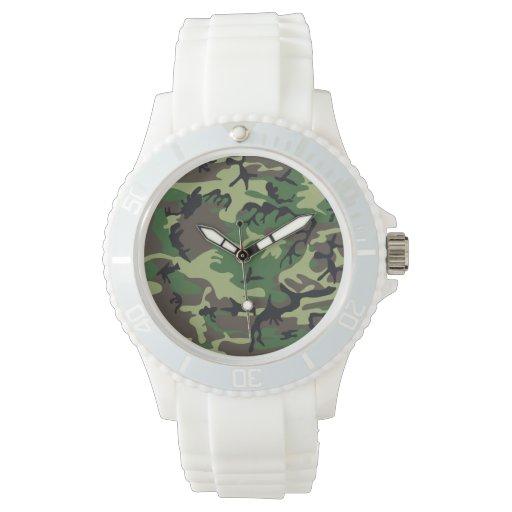 Los militares camuflan reloj
