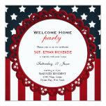 Los militares caseros agradables van de fiesta invitación personalizada