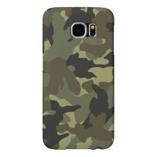 Los militares de color caqui de Camo camuflan los Fundas Samsung Galaxy S6