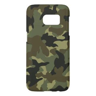 Los militares de color caqui de Camo camuflan los Fundas Samsung Galaxy S7