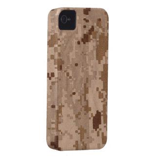 Los militares de Digitaces del desierto camuflan Case-Mate iPhone 4 Protectores