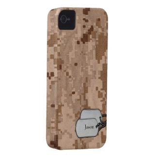 Los militares de Digitaces del desierto camuflan Case-Mate iPhone 4 Coberturas