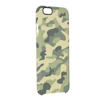 Los militares de hombres elegantes de Camo del Funda Clear Para iPhone 6/6S