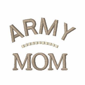Los militares de la mamá del ejército miman