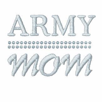Los militares de la mamá del ejército se sudadera con serigrafia