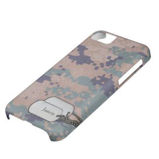 Los militares del color de Digitaces Forrest camuf Funda Para iPhone 5C