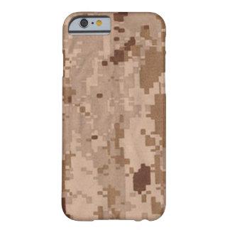 Los militares del desierto camuflan funda barely there iPhone 6