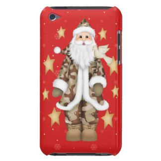 Los militares del navidad camuflan la caja de Sant Barely There iPod Coberturas