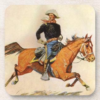 Los militares del vintage, una caballería mandan posavasos