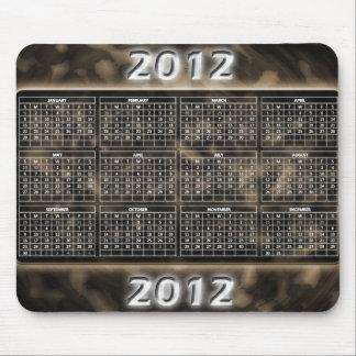 Los militares diseñan 2012 el calendario Mousepad Alfombrilla De Raton