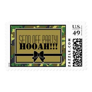 ¡Los militares envían de Fiesta-HOOAH! Franqueo