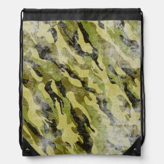 Los militares frescos del Grunge camuflan el Mochilas