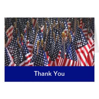Los militares le agradecen las tarjetas