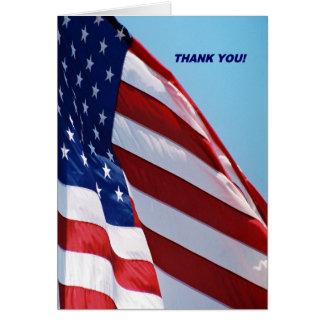 Los militares le agradecen tarjeta de felicitación
