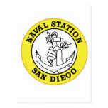 Los militares navales de California de la estación Postales