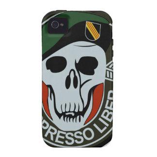 Los militares NEGROS de las fuerzas especiales OPS Vibe iPhone 4 Funda