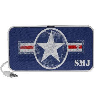 Los militares patrióticos de los E.E.U.U. iPod Altavoz