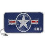 Los militares patrióticos de los E.E.U.U. protagon iPod Altavoz