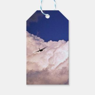 Los militares transportan el aeroplano etiquetas para regalos